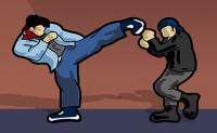 Straatgevecht