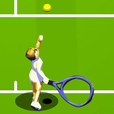 Tennis spil
