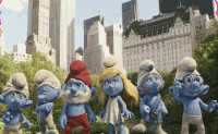 Smurfs Movie Puzzle