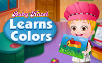 Baby Hazel Learns Colors