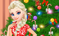 Elsa Decorate Christmas Tree