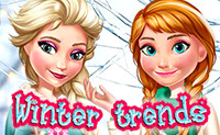 Elsa en Anna Winter trends