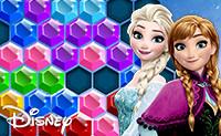 Frozen Elsa: Hexagon Puzzle