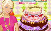 Barbie's Verjaardagstaart