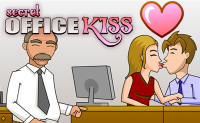 Secret Office Kissing