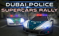 Dubai Police Supercars Rally