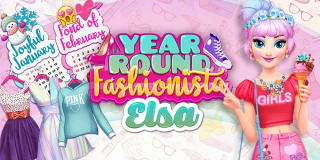 Fantastisk Year Round Fashionista: Elsa - Tjejspel - Spelo XZ-95