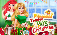 Princesses' Twelve Days of Christmas