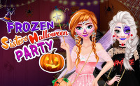 Frozen Sisters Halloween Party