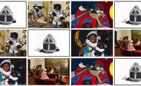 Sinterklaas plaatjes combineren