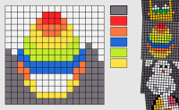 Mosaik 16x16 - Påske