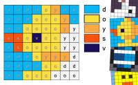 Easter Alphabet Mozaics