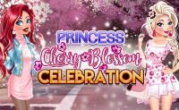 Princess Cherry Blossom Celebration