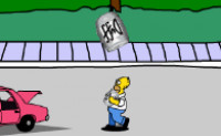 Simpsons Bier Spel
