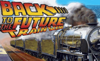 Back to the Future Train