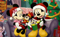 Minnie at Christmas Puzzle